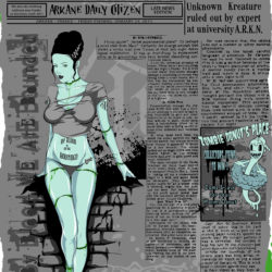 ARKANE-CLOTHING-INITIALE-COLLECTION-MODEL-ARKANE-NEWSPAPER